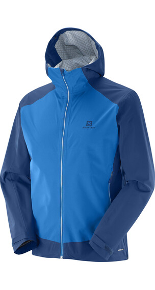 Salomon M's Nebula Stretch 2.5 L Jacket Union Blue/Midnight Blue